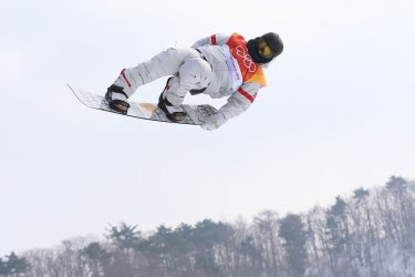American Mack in slopestyle at Pyeongchang 2018 Winter Olympics