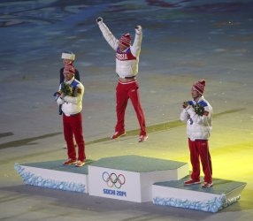Closing Ceremony for the Sochi 2014 Winter Olympics