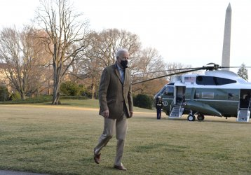 President Biden and family return to the White House after weekend in Delaware