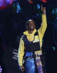 Travis Scott performs during MTV Video Music Awards in New York