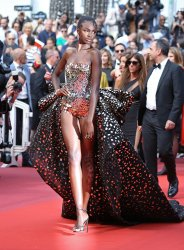 Leomie Anderson attends the Cannes Film Festival