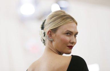 Karlie Kloss at the Met Gala in New York