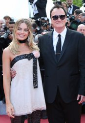 Margot Robbie and Quentin Tarantino attend the Cannes Film Festival