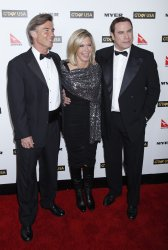 Olivia Newton-John and John Travolta arrive at the G'Day USA event in Hollywood