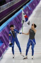 Final Of The Men's Mass Start Speed Skating At The 2018 Pyeongchang Winter Olympics