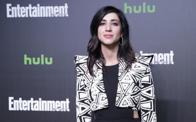 Dana DeLorenzo at Hulu's New York Comic Con After Party
