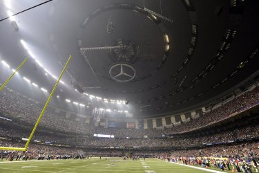 A power outage at XLVII in New Orleans