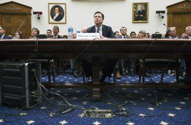 FBI Director Comey testifies on Encryption in Washington
