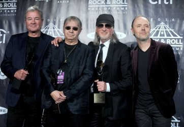 Deep Purple at the Rock And Roll Hall Of Fame Induction