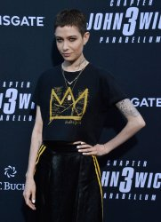 """Asia Kate Dillon attends the """"John Wick: Chapter 3 - Parabellum"""" screening in Los Angeles"""