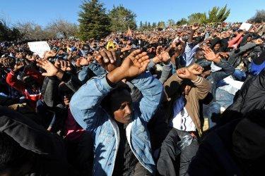 African Migrants Protest Jerusalem