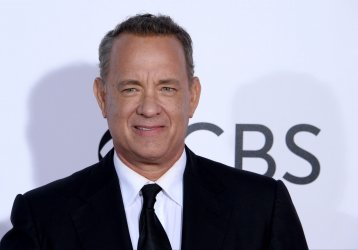Tom Hanks attends the 43rd annual People's Choice Awards in Los Angeles