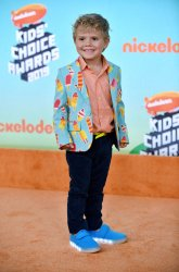 Tydus Talbott attends Kids' Choice Awards 2019