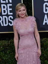 Kirsten Dunst attends the 77th Golden Globe Awards in Beverly Hills