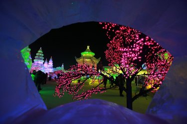 Ice and Snow Festival opens in Harbin