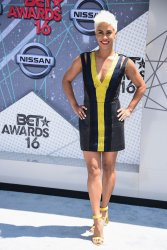 Sibley Scoles attends the BET Awards in Los Angeles