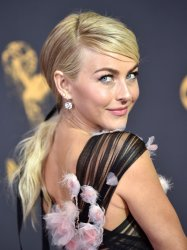 Julianne Hough attends the 69th annual Primetime Emmy Awards in Los Angeles