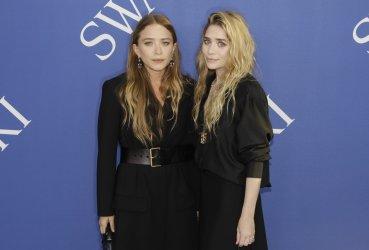 Mary-Kate and Ashley Olsen at the 2018 CFDA Fashion Awards