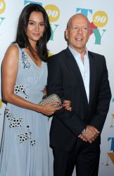 Bruce Willis and Emma Heming at Tony Bennett's 90th birthday