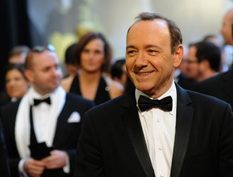 Kevin Spacey arrives at the 83rd annual Academy Awards in Hollywood