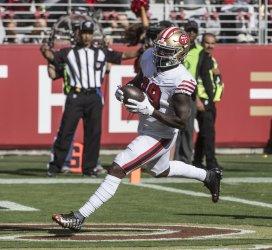 San Francisco 49ers trounce Carolina Panthers 51-13
