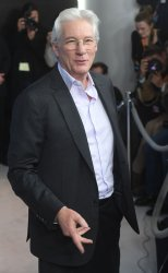 Richard Gere attends a photo call for The Dinner at The 67th Berlinale International Film Festival.