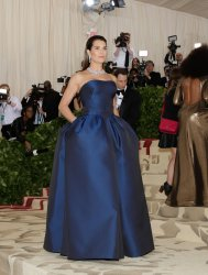 Brooke Shields arrives at the Met Gala in New York