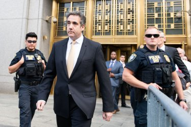 Michael Cohen at Federal Courthouse