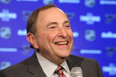 National Hockey League Commissioner Gary Bettman