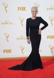 Jamie Lee Curtis at the 67th Primetime Emmys in Los Angeles