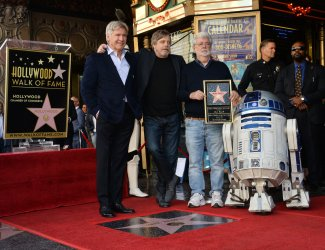 Mark Hamill honored with star on the Hollywood Walk of Fame in Los Angeles