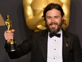 Casey Affleck wins Best Actor Oscar at the 89th annual Academy Awards in Hollywood