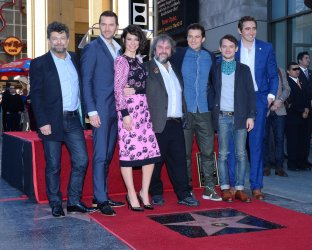 Peter Jackson receives star on Hollywood Walk of Fame in Los Angeles