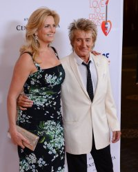 Rod Stewrt and Penny Lancaster attend the 20th annual Race to Erase MS gala in Los Angeles
