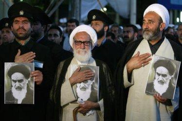 IRAN'S SUPREME LEADER SPEAKS ON 18TH ANNIVERSARY OF KHOMEINI'S DEATH