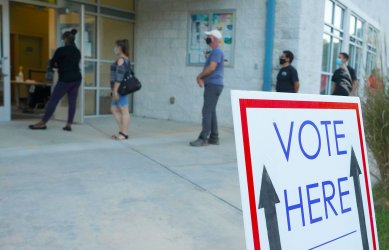 Early Voters in Georgia