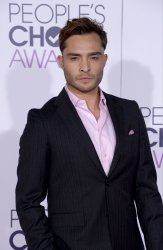 Ed Westwick attends the 42nd annual People's Choice Awards in Los Angeles