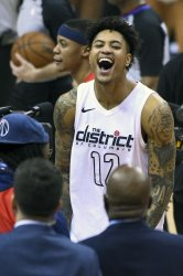 Oubre Celebrates a Win