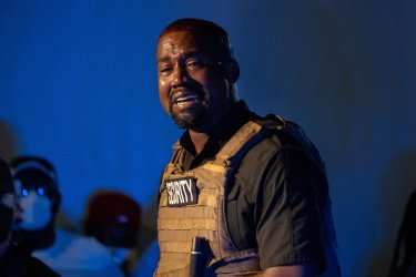 Kanye West Holds First Campaign Event in South Carolina