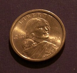 U.S. Mint to scale back production of Sacagawea dollar coin