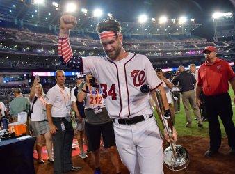Nationals Bryce Harper wins the 2018 Home Run Derby