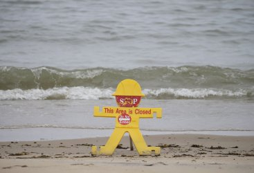 Rye Playland Beach during the Coronavirus Pandemic