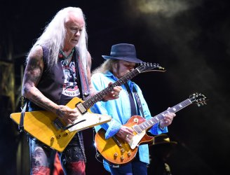 Lynyrd Skynyrd performs at KAABOO Texas at AT&T Stadium