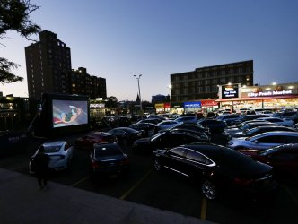 Drive-in movies during COVID-19 pandemic in New York
