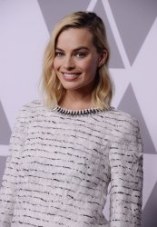 Margot Robbie attends the Oscar nominees luncheon in Beverly Hills