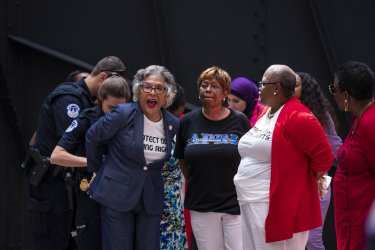 Representative Joyce Beatty Arrested in Voting Rights Protest on Capitol Hill