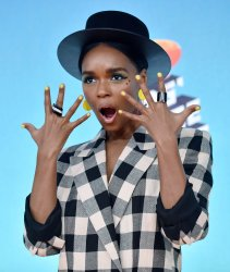 Janelle Monae attends Kids' Choice Awards 2019