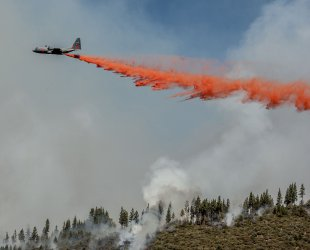 Rim Fire burns 300 square miles near Yosemite National Park