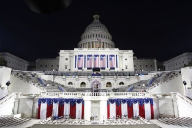 Inauguration preparation in Washington