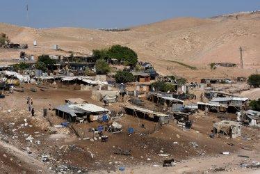 An Overview Of Al Khan Al Ahmar Bedouin Village Facing Demolition